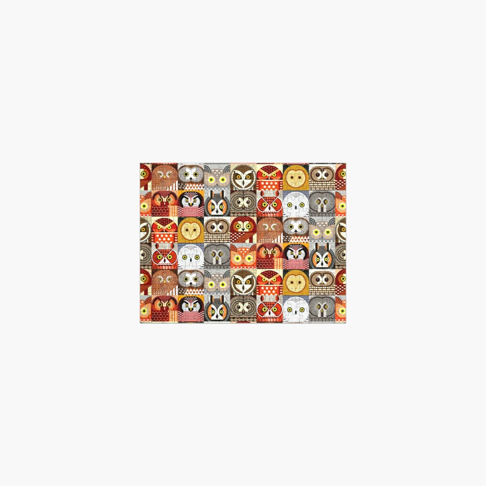 North American Owls Jigsaw Puzzle