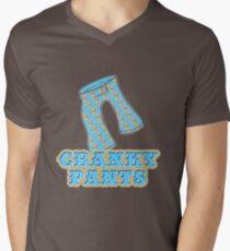 Funny Cranky Pants Design T-Shirt