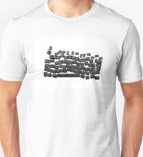 dyslexia black keyboard T-Shirt