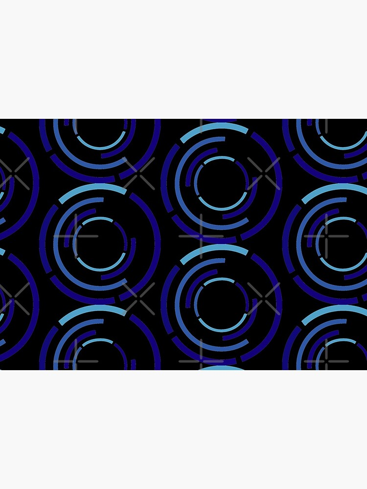 Circles Blue by that5280lady