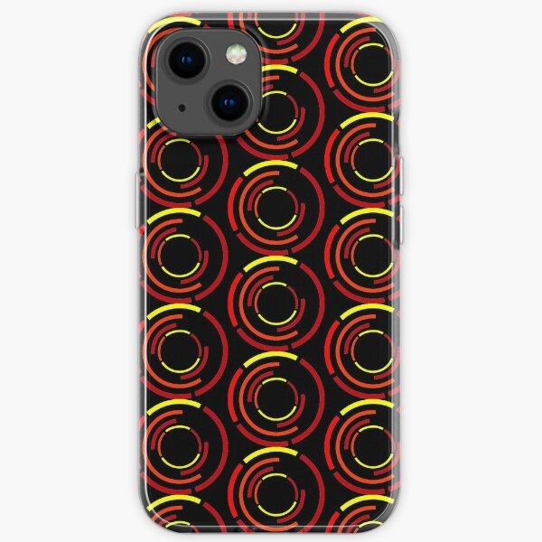 Circles Warm iPhone Soft Case