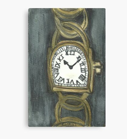 Watch Of Gold Canvas Print