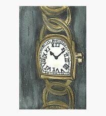 Watch Of Gold Photographic Print