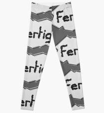 FERTIG! Leggings