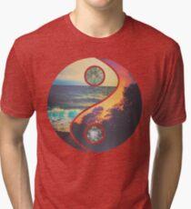 """CHILL VIBES """"YANG"""" Tri-blend T-Shirt"""