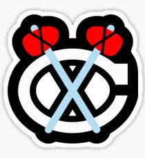 Blackhawks-Chicago  Sticker