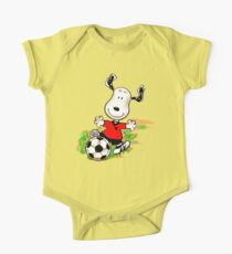 Lets Play Soccer One Piece - Short Sleeve
