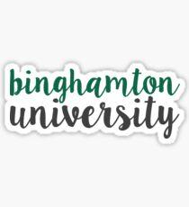 Binghamton University - SCRIPT Sticker