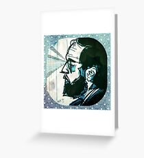Kubrick Greeting Card