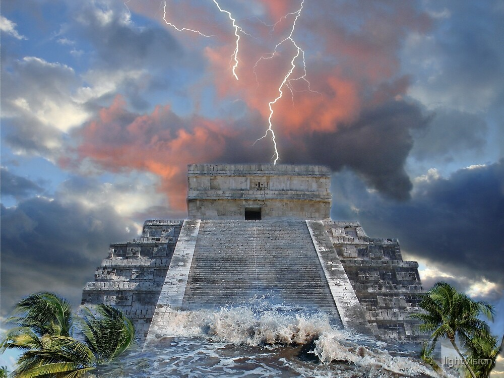 Heaven & Earth - Mayan Prophecies #2 by lightvision