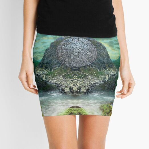 Ancient Prophecies - Maya #1 Mini Skirt