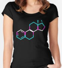 Trans Estrogen Women's Fitted Scoop T-Shirt