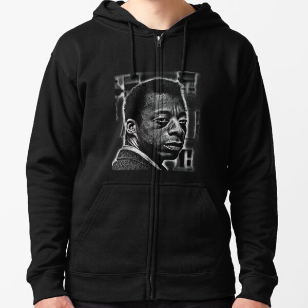 James Baldwin Zipped Hoodie