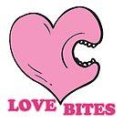 love bites biting heart by doonidesigns
