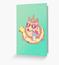 Be awesome! Greeting Card