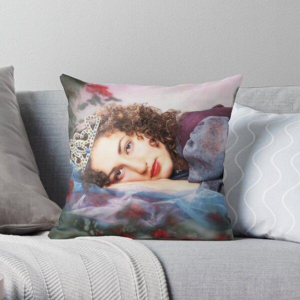 Princess Just Woke Up. Throw Pillow