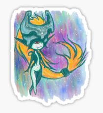 Midna (water color sketch) Sticker