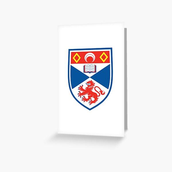 BEST SELLER - ST Andrew High School Crest Merchandise Greeting Card