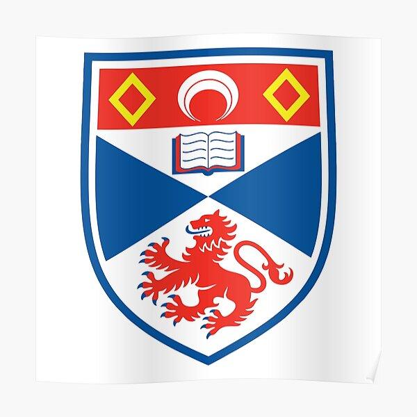 BEST SELLER - ST Andrew High School Crest Merchandise Poster