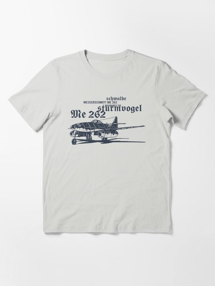 Alternate view of Messerschmitt ME 262 Essential T-Shirt