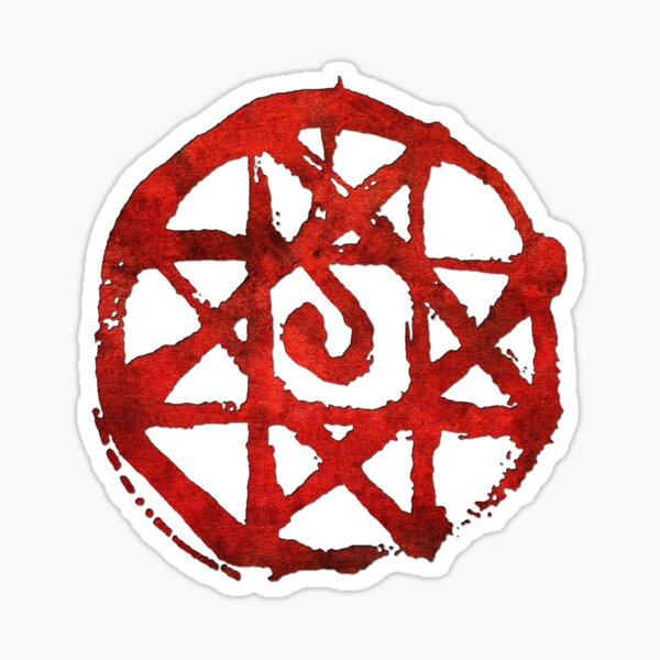 Rugged Fullmetal Alchemist Sticker