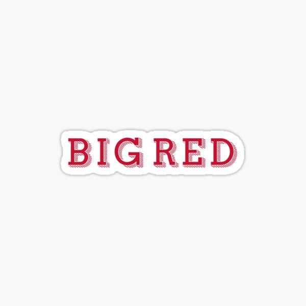 Big Red - DECORATIVE  Sticker