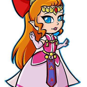 Zelda (Four Swords) by JankyWeeaboo