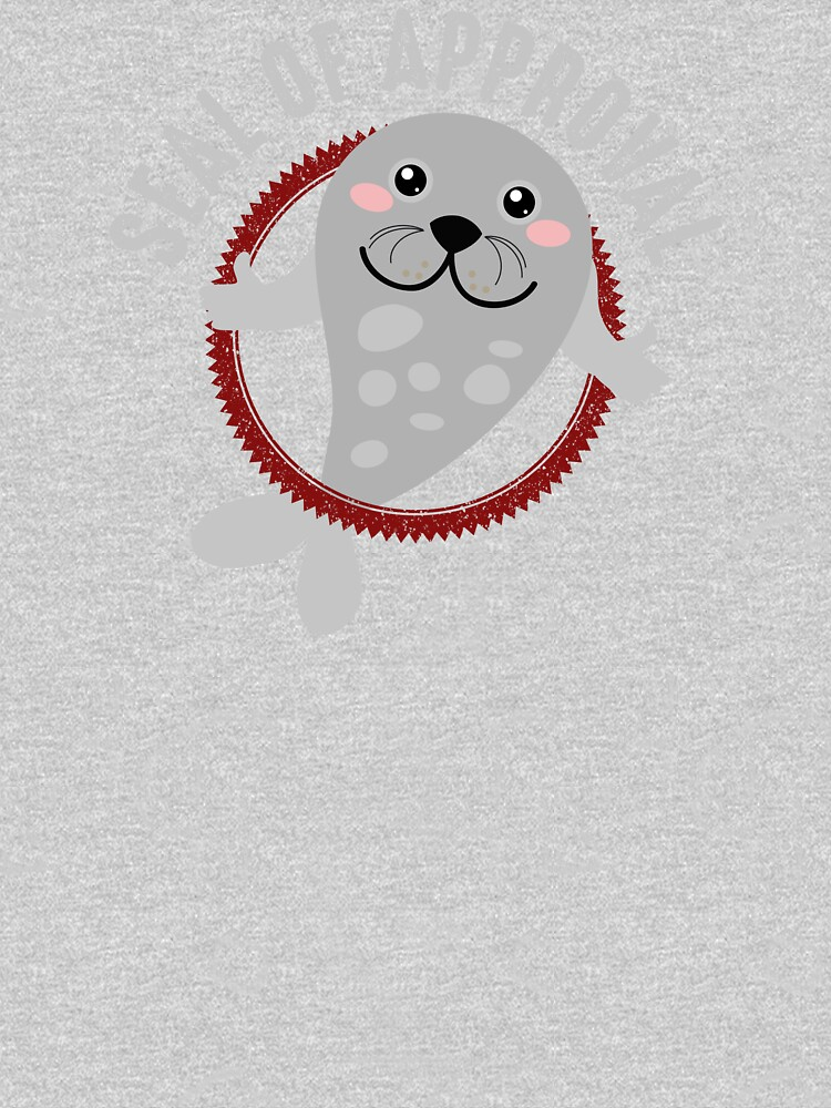 Seal of Approval T Shirt by bitsnbobs