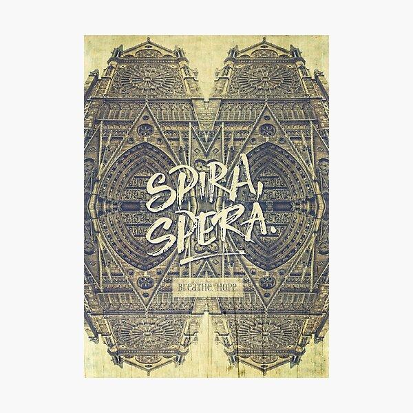 Spira Spera Victor Hugo Novel Notre-Dame de Paris Photographic Print