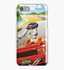 California OutRun SEGA utopian heaven arcade racer iPhone Case/Skin