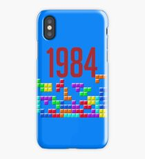 tetris 84 iPhone Case