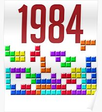 tetris 84 Poster