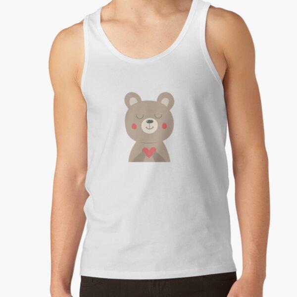 Cute bear Tank Top