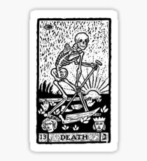 Tarot card - the death Sticker