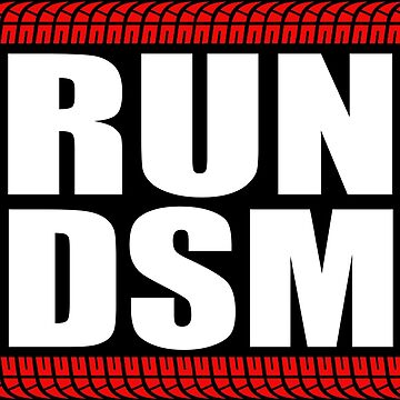 RUN DSM sticker by hoddynoddy