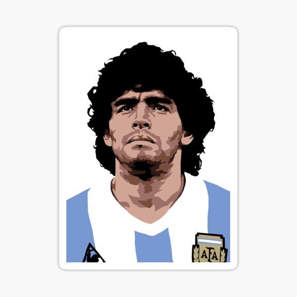 Maradona - Meilleur joueur de football Sticker
