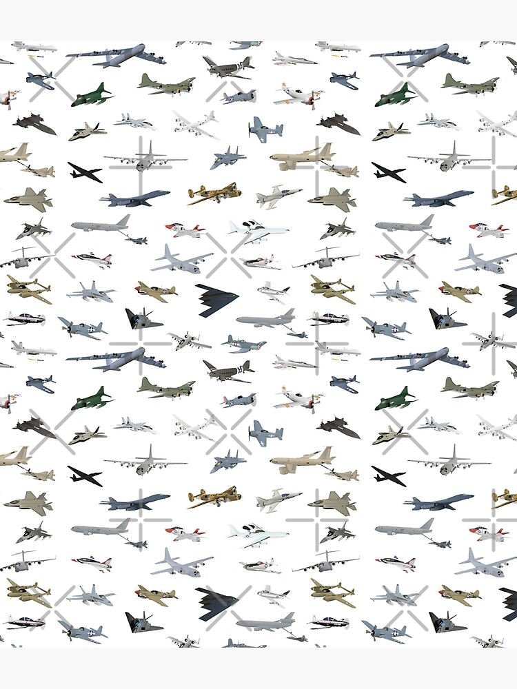 American Military Airplanes by NorseTech