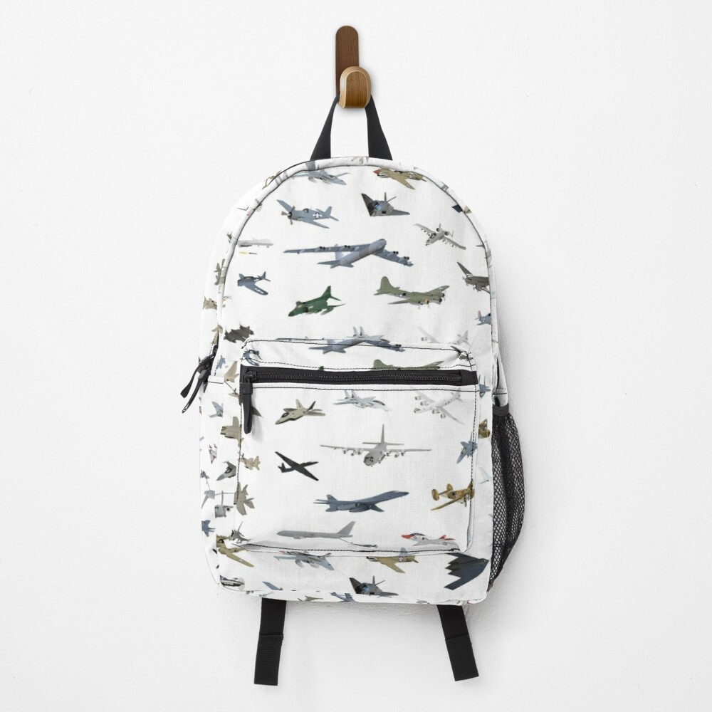 American Military Airplanes Backpack