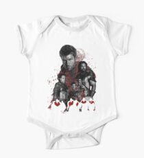 Spartacus and his rebel leaders One Piece - Short Sleeve