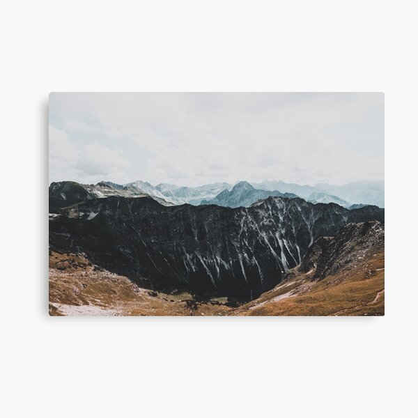 Interstellar landscape photography Canvas Print