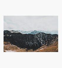 Interstellar landscape photography Photographic Print