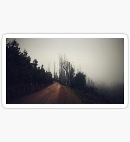 Mountain Road Sticker