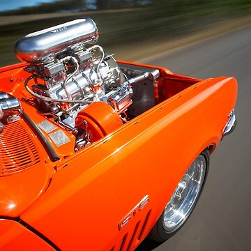 Orange Holden HG Monaro GTS rig shot by jjphoto