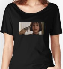 Mathilda the Professional Women's Relaxed Fit T-Shirt