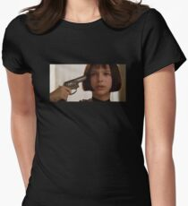 Mathilda the Professional Women's Fitted T-Shirt