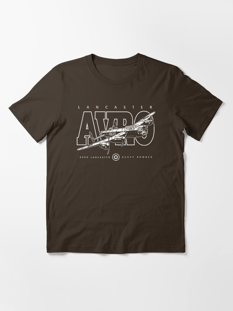 Alternate view of Lancaster Bomber Essential T-Shirt