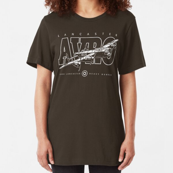 Lancaster Bomber Slim Fit T-Shirt