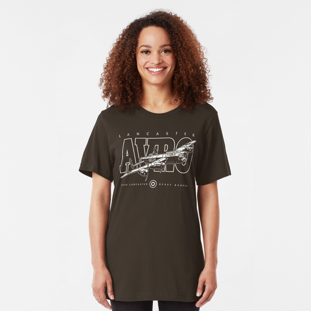 Lancaster Bomber Slim Fit T-Shirt