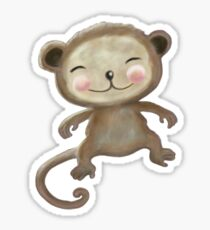 Wee Monkey Sticker