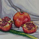 Pomegranates by Yuliya Glavnaya